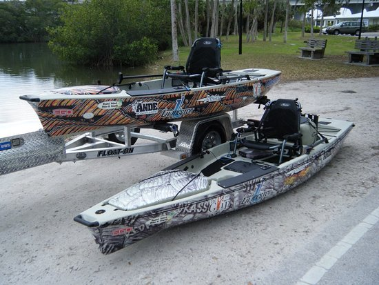 Custom fitted hobie pedal drive kayaks picture of kayak for Fishing kayaks for sale cheap