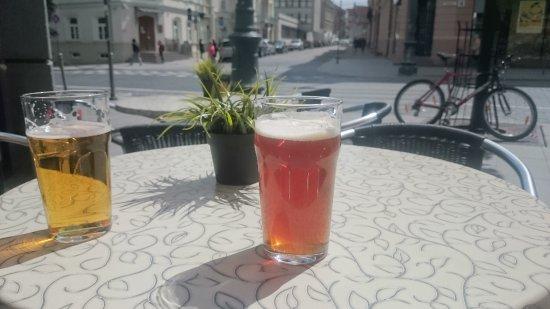 Post Skriptum: Beer in the sun