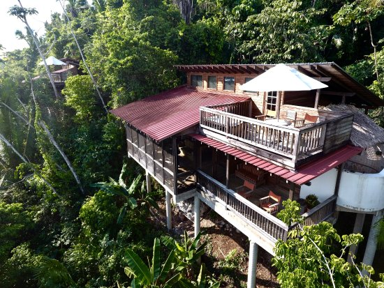 Belize Tree Houses at Ian Anderson's Caves Branch Jungle Lodge