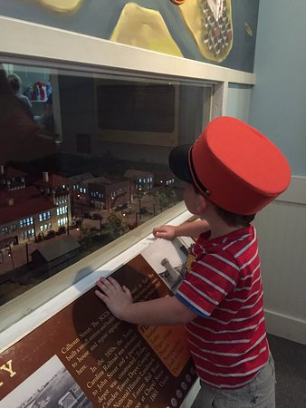 Aiken Visitors Center and Train Museum: The hat comes from Dinosaur Train
