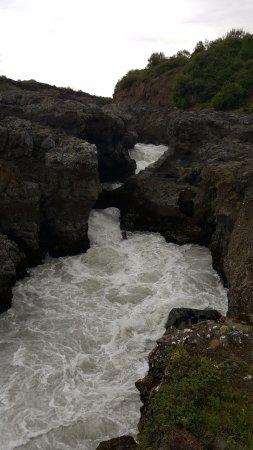 Husafell, Islandia: Rapide Barnafoss 1.