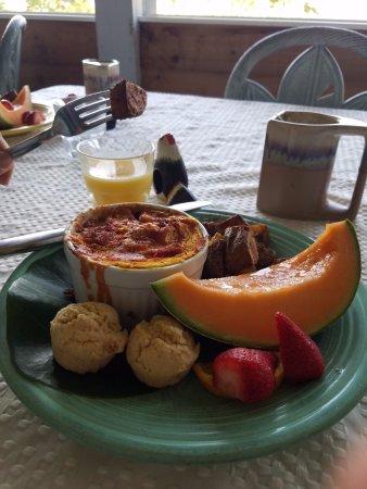 Deer Run Bed & Breakfast: Vegan breakfast