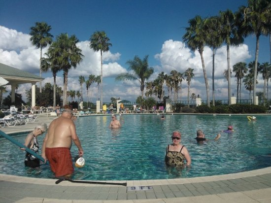 Del Webb Florida >> Main Resort Pool At Del Webb Spruce Creek Picture Of Spruce Creek