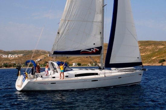 Road Town, Tortola: Offshore Students learn aboard The Moorings yachts in the BVI