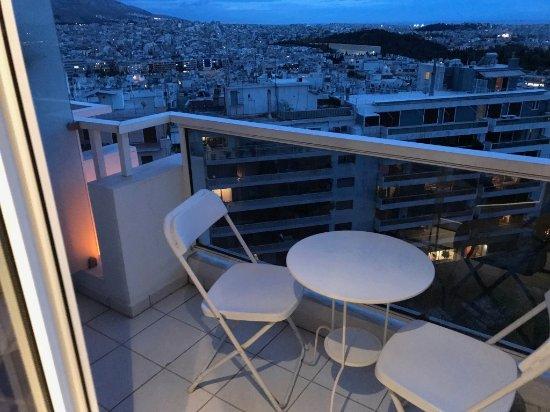 St. George Lycabettus Lifestyle Hotel: Balcony