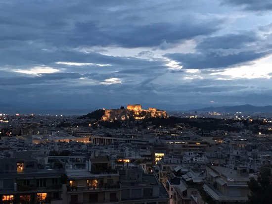 ​St. George Lycabettus Lifestyle Hotel: Acropolis