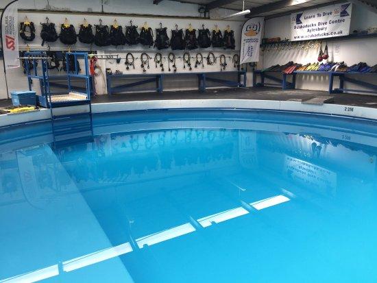 Aylesbury, UK: Scubaducks Dive centre