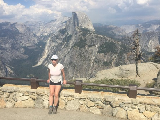 Oakhurst, CA: Glacier Point, 7200 ft elevation. I was dumbstruck at the view of the valley beyond.