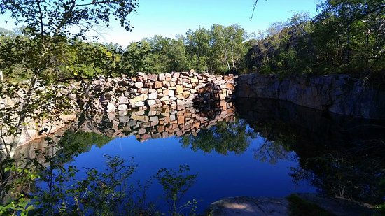 Quarry Park and Nature Preserve: One of the non-swimming quarries