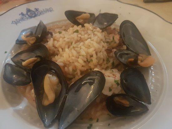 Piozzano, Italia: Leon d'oro - Risotto ai frutti di mare