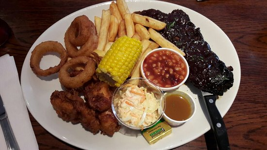 The Beck Bar-Grill and Carvery: Half a Rack of Ribs