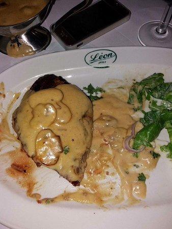 Steak belge après deux bouchées 200gr