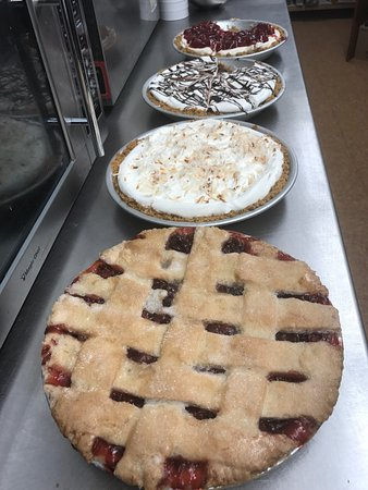Clintonville, WI: Fresh baked homemade pies!