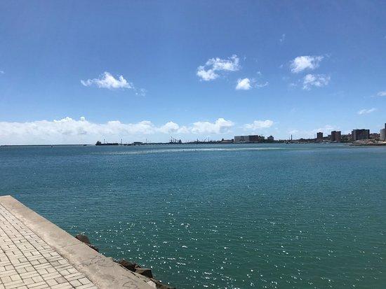 Meireles Beach: vista do pontal