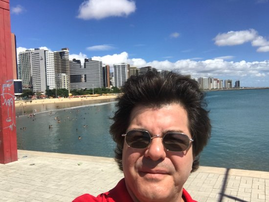 Meireles Beach: vista pontal