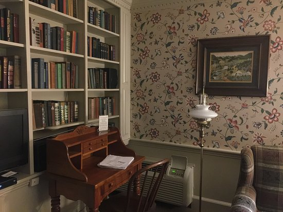 Clarence, NY: corner desk and bookcase