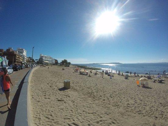 Playa Mansa: Punta del Este