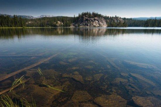 Cooke City, MT : Rock Island Lake
