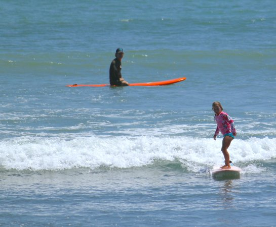 Dana Point, CA: Having the wave all to yourself is a bonus in the summer! girlinthecurl.com