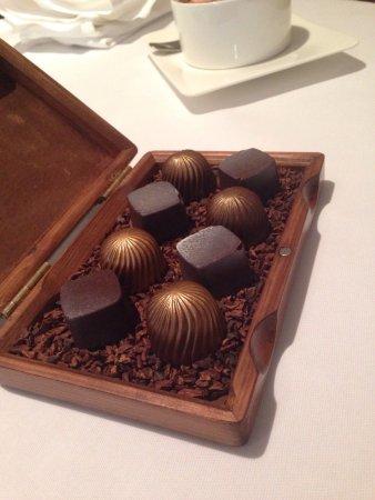 Lumiere: Chocolates with coffee!