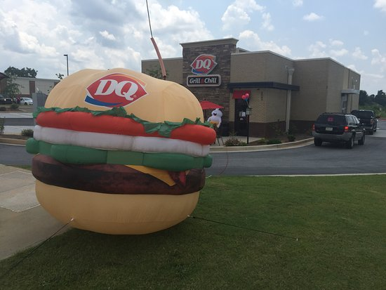 Fairburn, GA: Burger Costume