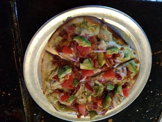 Boulder Junction, WI: Chicken, bacon, avocado pizza special