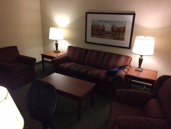 Drury Inn & Suites Charlotte Northlake: sofa sitting room