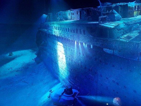 Panometer Leipzig: Titanic in Leipzig