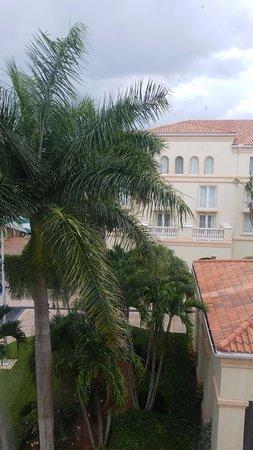 Hilton Naples: Vista desde nuestra habitación