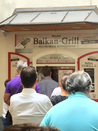 Balkan Grill Walter: The line moves fast