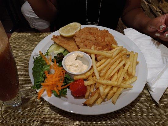 Albar Snack Bar and Restaurant: Linguado frito