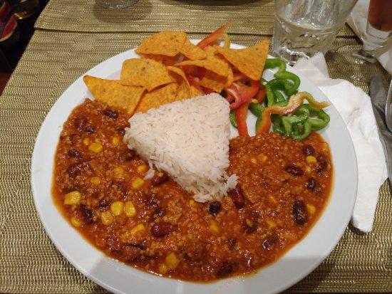 Albar Snack Bar and Restaurant: Chilli con carne