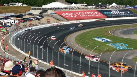 Loudon, NH: Photo from our seats
