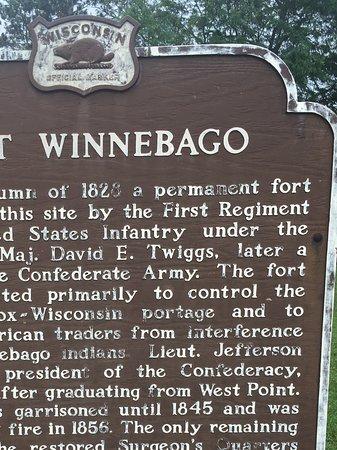 Portage, WI: Historical marker