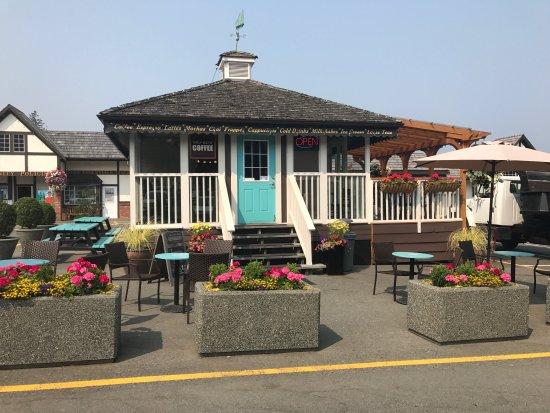 Cobble Hill, Canadá: Bru-Go's Coffee