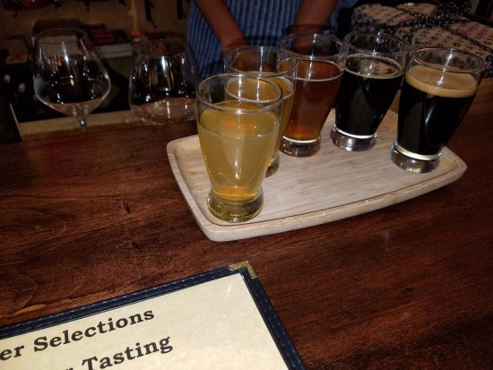 Solvang, CA: Beer Flights