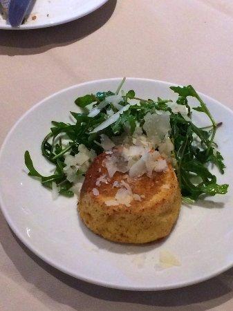 Parmigiano souffle