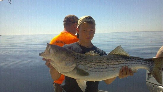 Deep sea fishing fv little sister picture of central for Hampton beach deep sea fishing