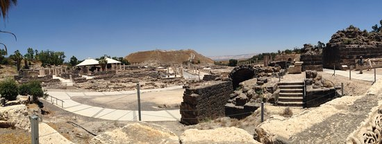 Beit She'an, Israel: Panaramic View