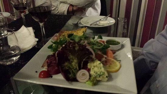 Da Vinci Ristorante Italiano: Seafood platter