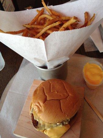 Mineola, NY: Filet Mignon sandwich and fries