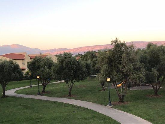 Kfar Blum, Israel: sunset