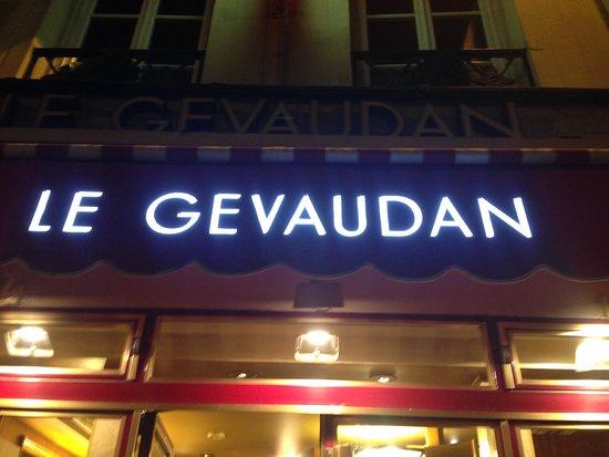 414da011895 l enseigne lumineuse - Picture of Le Gevaudan