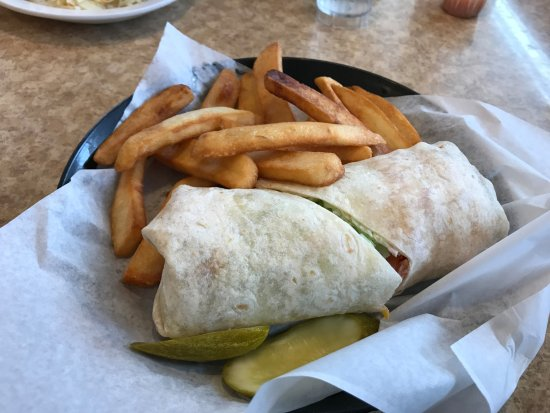 DeForest, WI : Chicken Wrap