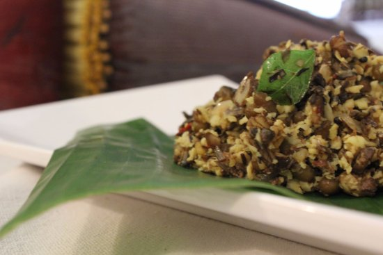 Authentic Banana Flower Cooked The Kerala Way In Ernakulam Kochi