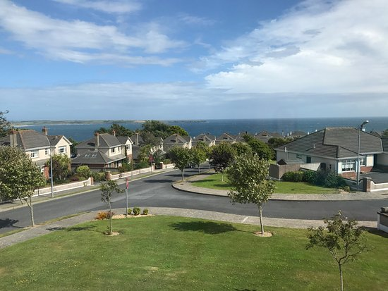 Tramore, Irland: The amazing view from our room
