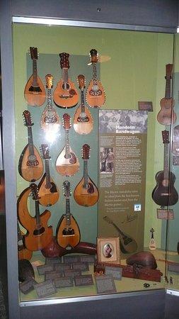 Nazareth, PA: Mandolins in the museum
