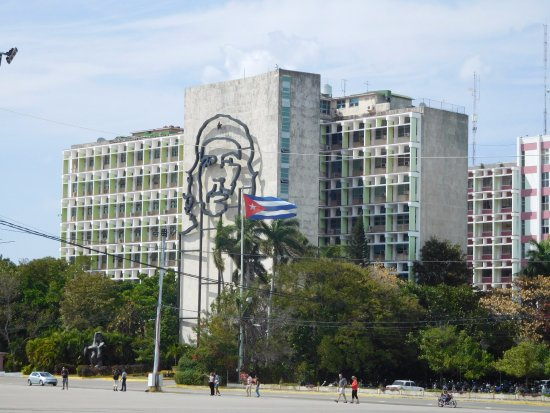 Yup another giant communist office building for Ministerio del interior