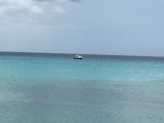 St. Croix Ultimate  Bluewater Adventures (SCUBA), Inc. : Dive boat Moored off of Frederiks