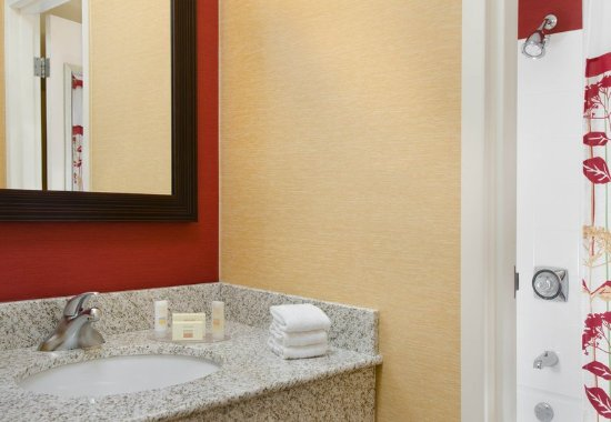 Bathroom Vanity Kansas City guest bathroom vanity - picture of courtyard kansas city airport